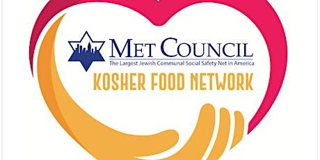 Met Council Kosher Food Warehouse Afternoon Volunteering tickets