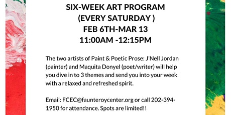 Adult Art Program Hosted by FH Faunteroy Community Enrichment Center tickets