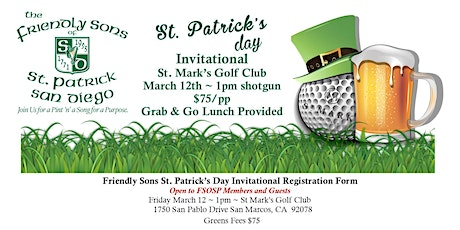 St. Patrick's Day Invitational tickets