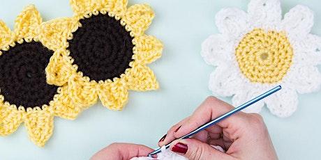 Beginner Crochet: Coasters tickets