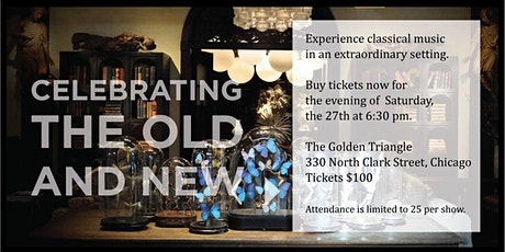 Live Music Event to Celebrate the Old and New tickets