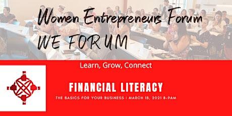 Financial Literacy, Business Basics tickets