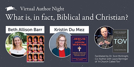 Virtual Author Night with Beth Allison Barr & Kristin Kobes Du Mez tickets