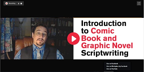 Introduction to Comic Book and Graphic Novel Scriptwriting tickets