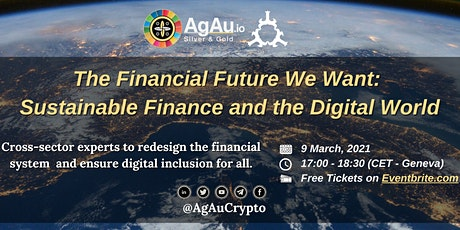 The Financial Future We Want: Sustainable Finance and the Digital World tickets