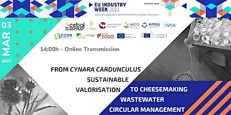 Cardoon sustainable valorisation &Cheesemaking wastewater circular managing tickets