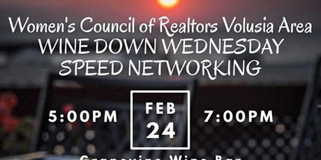 Wine Down Wednesday Speed Networking tickets