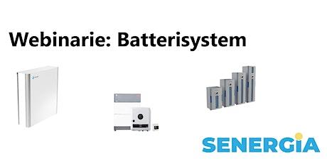 Webinarie - Utbildning i Batterisystem biljetter