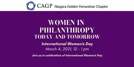 Women In Philanthropy: Today and Tomorrow tickets