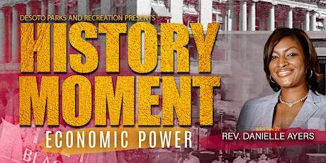 History Moment: Economic Power Documentary tickets
