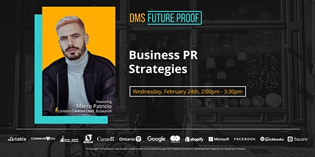 Business PR Strategies tickets