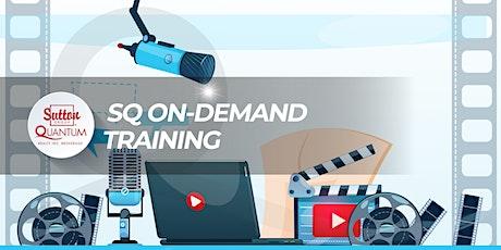 SQ On-Demand Training tickets