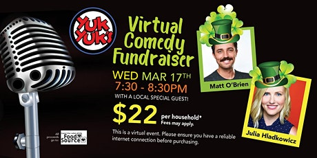 KLFS Yuk Yuk's Virtual Comedy Fundraiser tickets
