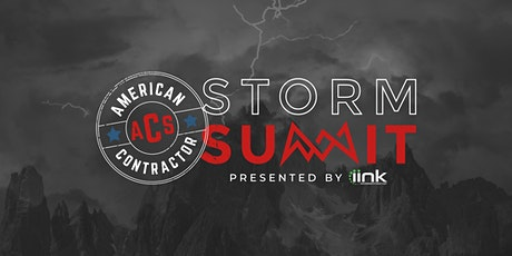 American Contractor Storm Summit Presented by iink tickets