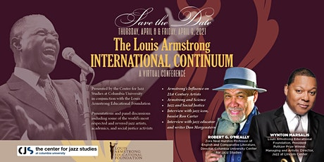 The Louis Armstrong International Continuum: A Virtual Conference tickets