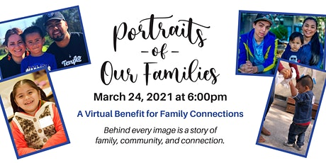 Portraits of our Families : A Virtual Benefit for Family Connections tickets