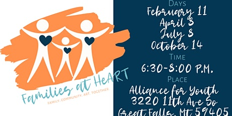 Families at HeART at Alliance for Youth tickets