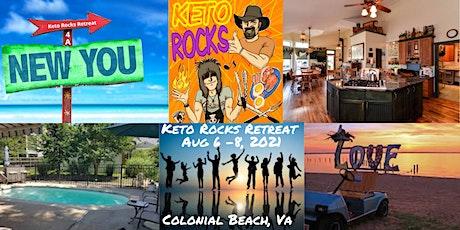 Keto Rocks Weekend Retreat tickets