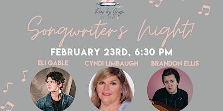Pies by Gigi Songwriter's Night tickets