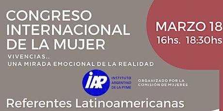 CONGRESO INTERNACIONAL DE LA MUJER entradas