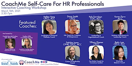 CoachMe Self-Care For HR Professionals tickets