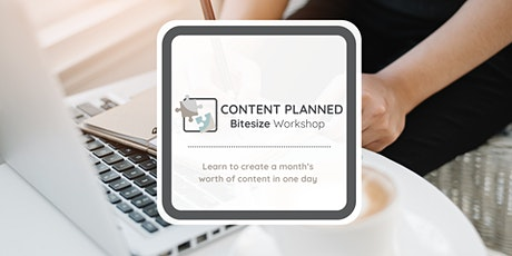 Content Planned - Your Social Media Content Planned in a day biglietti