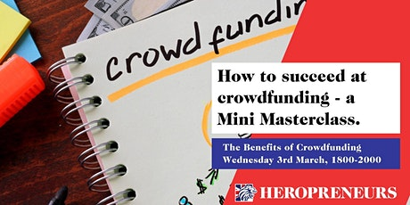 The Benefits of Crowdfunding tickets