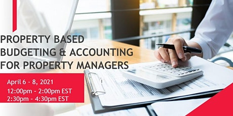 Property Based Budgeting & Accounting for Property Managers tickets