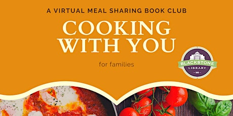 Cooking with You: a Meal Sharing Book Club for Families - K thru 4th Grade tickets