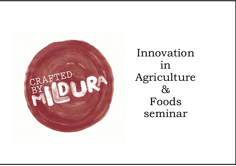Innovation in Agriculture & Foods