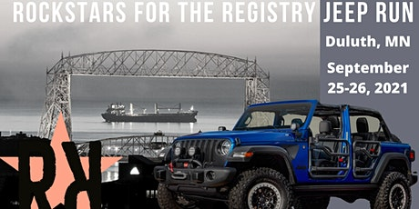 Rockstars for the Registry Duluth JEEP Run tickets