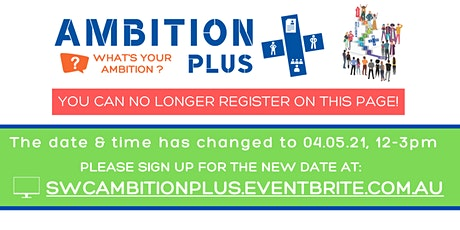 Ambition+ PLUS Session 3 tickets