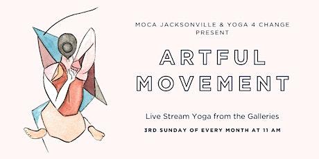 MOCA & Yoga 4 Change Present: Artful Movement Online tickets