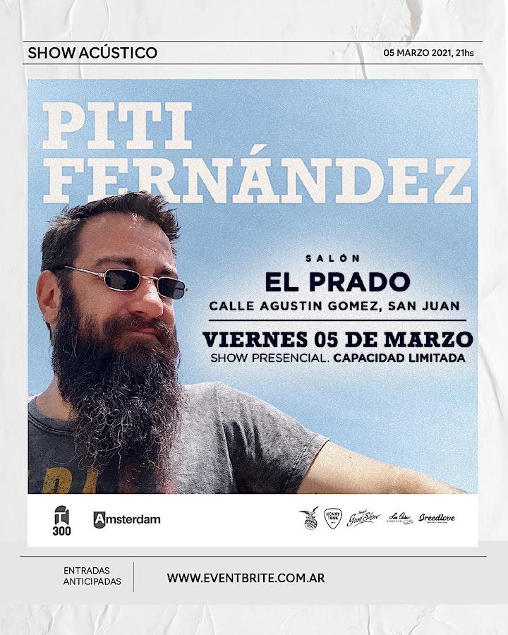 Imagen de Piti Fernandez - Salon El Prado