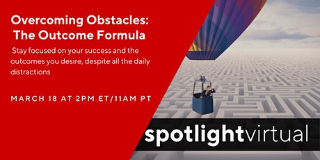 Overcoming Obstacles - The Outcome Formula tickets