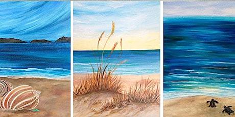 Shore Birds and Beach Scenes - Acrylics with Jen Livia tickets