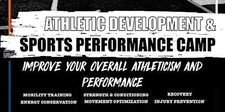 Athletic Development & Sport Performance Camp tickets