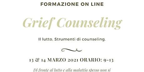 GRIEF COUNSELING. IL LUTTO: STRUMENTI DI COUNSELING sesta edizione - online biglietti