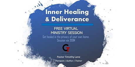 FREE Inner Healing & Deliverance Ministry Session tickets