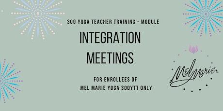 300 Module Student Integration Meeting tickets
