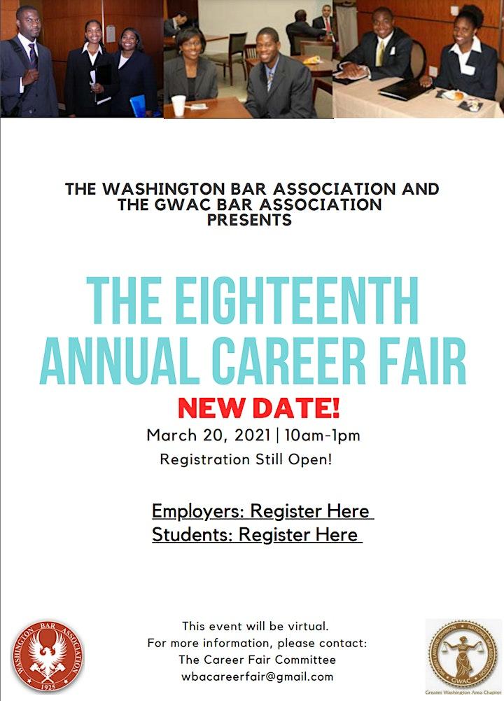 The Eighteenth Annual Career Fair image