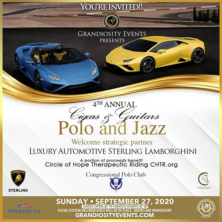 Grandiosity Events 5th annual Celebrity charity Polo & Jazz image
