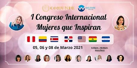 "I Congreso Internacional ""Mujeres que Inspiran"" entradas"