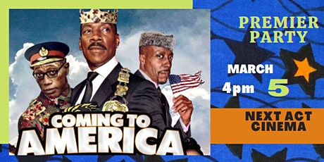COMING 2 AMERICA: Private Premier Party tickets