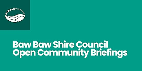 Open Community Briefings tickets