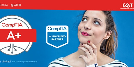 GRATIS  MasterClass CompTIA A+ boletos