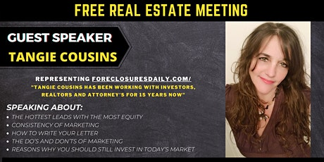 Central Florida REIA Meeting - Tampa - Guest Speaker Tangie Cousins tickets