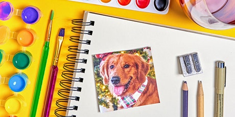 Paint, Pups & Prosecco - Beverly Grove tickets