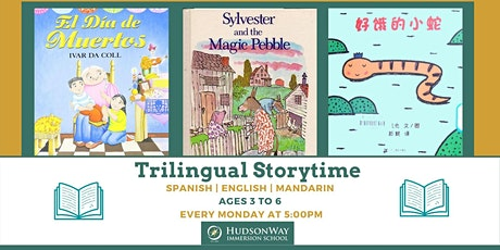 Free Trilingual Storytime - Virtual tickets