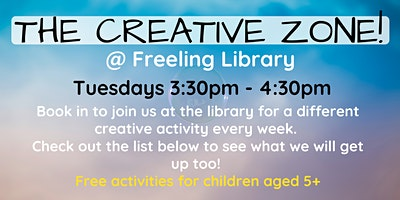 The Creative Zone @ The Freeling Library